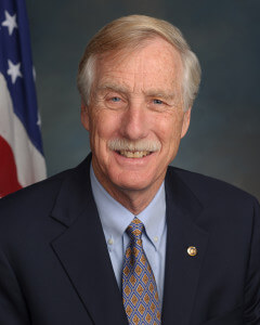 Senator Angus King, a strong proponent of Net Neutrality.