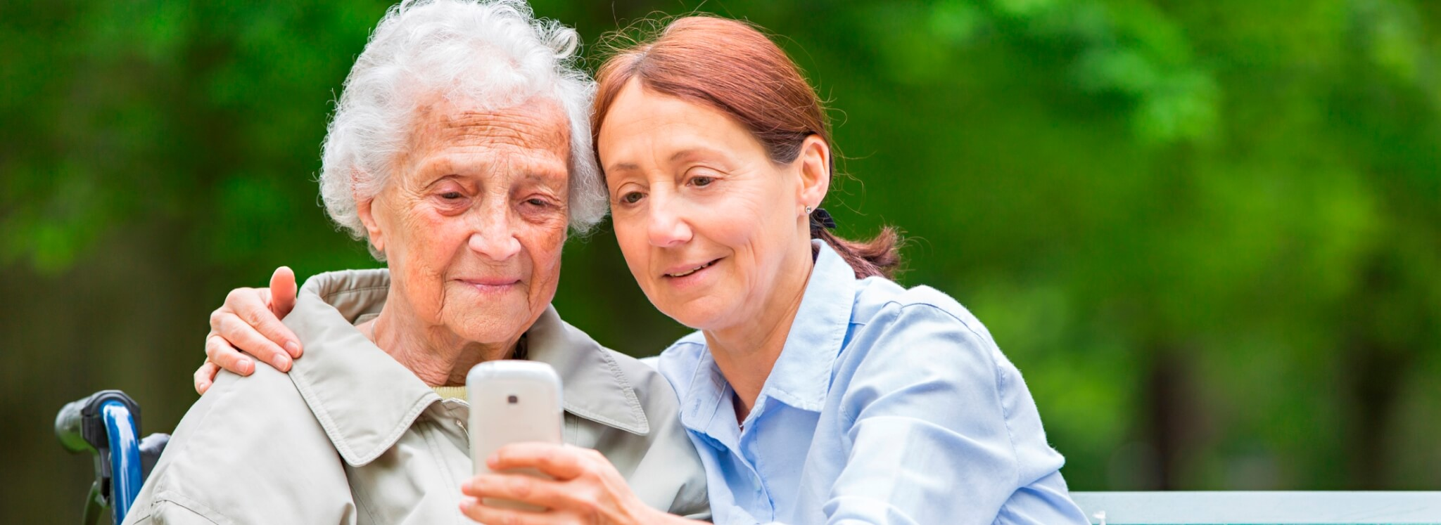 Care for Elderly from Mobile Phone