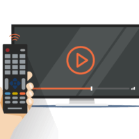Smart TV's can provide thousands of viewing options.