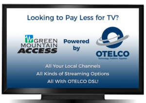 Green Mountain Access, GMA, GMA TV, Otelco, Internet TV