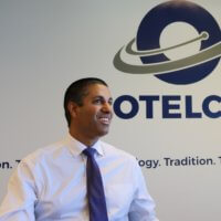 Chairman Ajit Pai visiting OTELCO's Maine office to discuss rural broadband expansion.