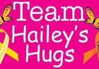 Team Hailey's Hugs is a non-profit orginization inspired by10-year-old Hailey Steward, a young Maine girl who passed away from B-Cell ALL leukemia.