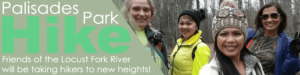 Palisades Park Hike, Friends of the Locust Fork River will be taking hikers to new heights!