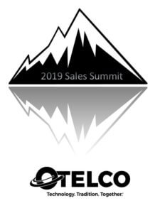 The logo for The OTELCO Sales Team's 2019 Sales Summit