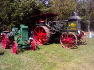 A tractor from the Antique Farm Equipment Show in Cole Camp.