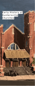 Early History of Guntersville Churches