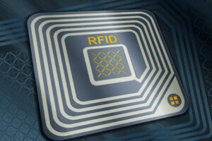 RFID tag, Radio Frequency Identification chip